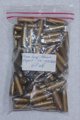 C96 ammunition/Export  - 9 mm. - Lang Mauser