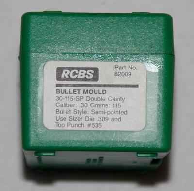 RCBS /30-115-SP Double Cavity